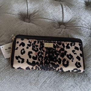 Leopard print Coach wallet